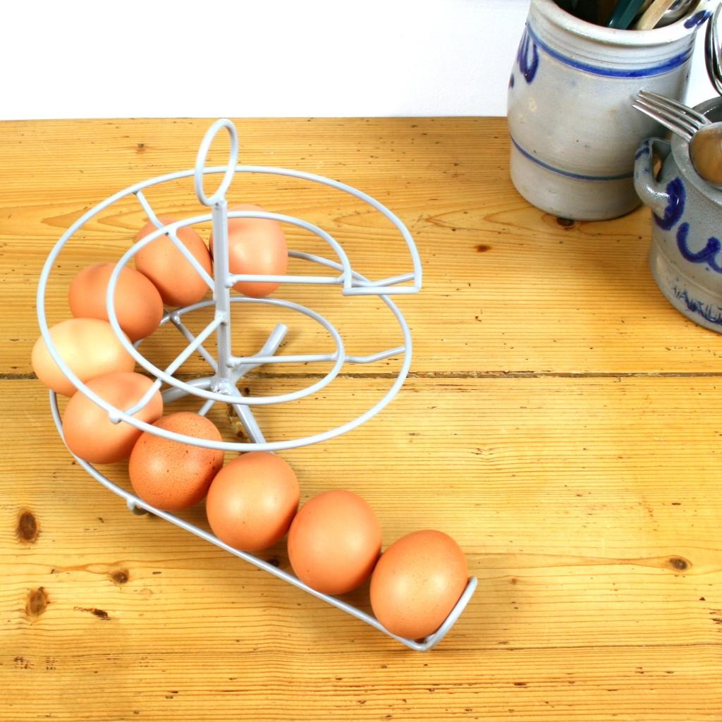 Handig Goed Eggskelter grijs