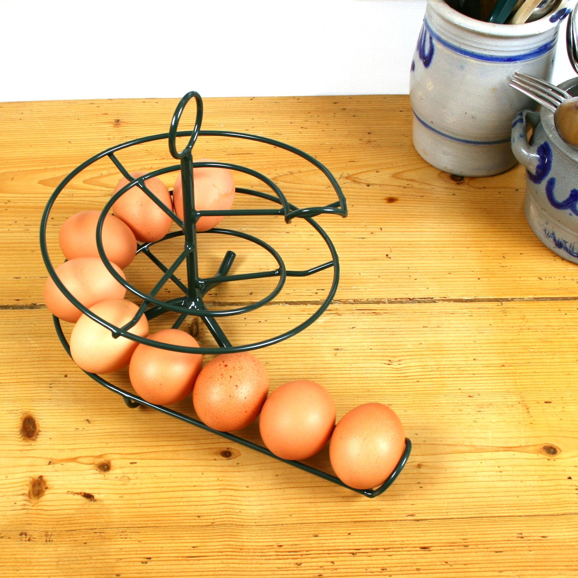Handig Goed Eggskelter groen