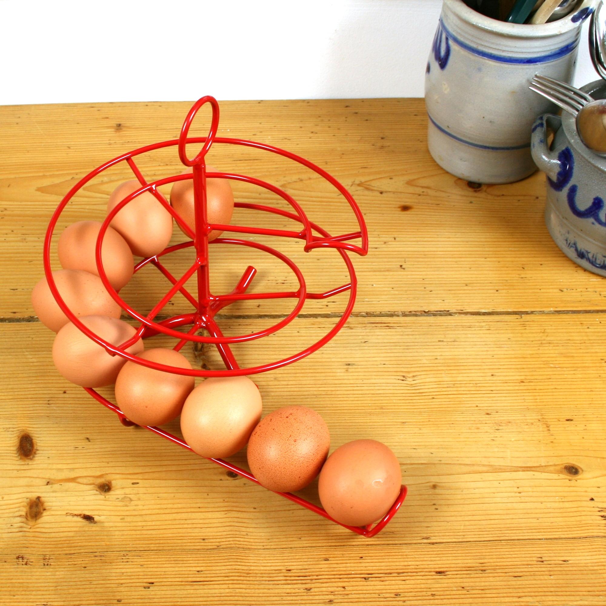 Handig Goed Eggskelter rood