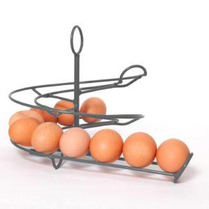 Handig Goed egg skelter zilvergrijs