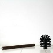 Toiletborstel met verwisselbare kop