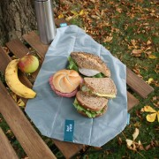 Herbruikbaar lunchzakje