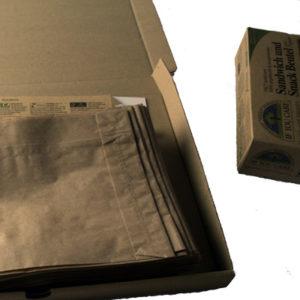 Budgetverzending voor Papieren boterhamzakjes