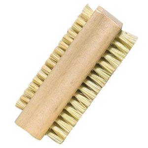 Nagelborstel van hout en tampico