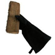 open haard handschoen