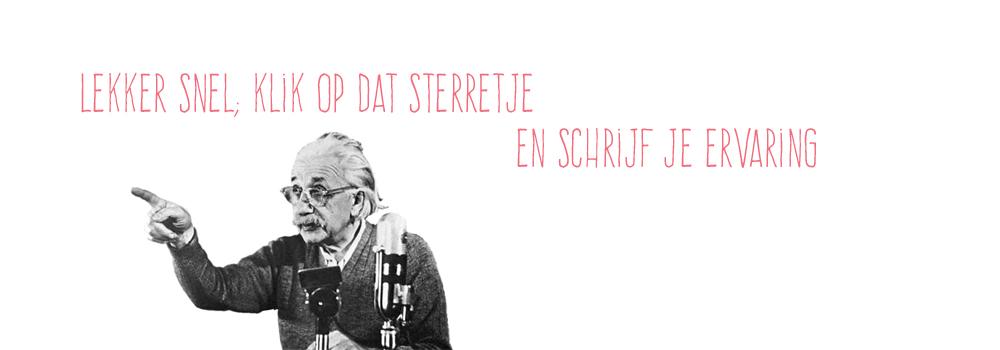 Einstein zei het al