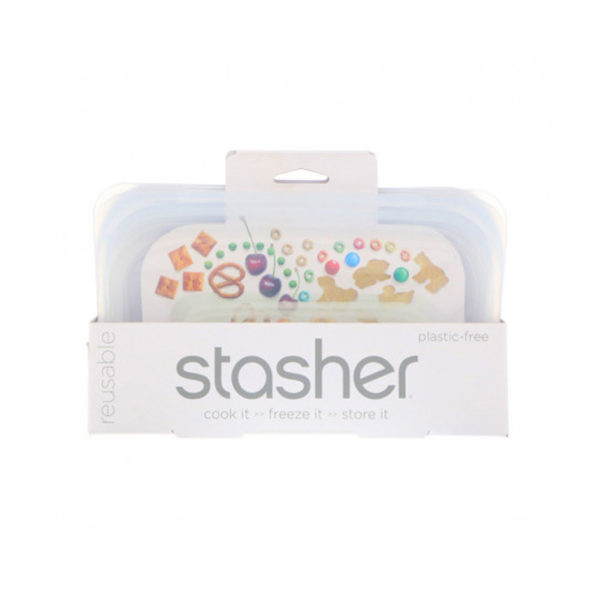 Stasher bag small snack