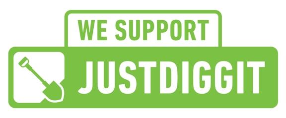 Wij steunen Justdiggit!